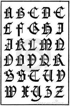 Engelse Gotische Kapitalen, 16de Eeuw