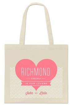 Southern Weddings - Richmond Tote Design