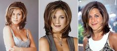 Image result for Jennifer Aniston Friends Haircut Side View