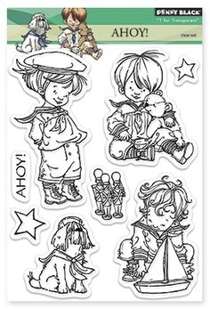 Ahoy! - Clear Stamp