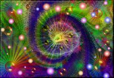 Spirale Kreis und Lebenstanz (Kwiatuszek)