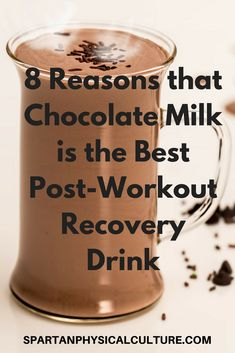 Learn why chocolate milk is the best post-workout recovery drink to fuel your physical training sessions and maximize your gains. Best Post Workout, Baking Ingredients, Physical Fitness, Cookie Dough, Recovery, Physics, Milk, Nutrition, Training
