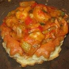 crawfish and puff pastry -- does it get any better than that? spice it up. have fun with it.