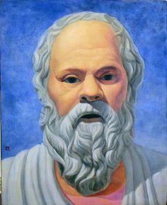 SÓCRATES: Nació en Atenas el año 470 a. c. de una familia, al parecer, de clase media. El interés de la reflexión filosófica se centraba entonces en torno al ser humano y la sociedad, abandonando el predominio del interés por el estudio de la naturaleza. Probablemente Sócrates se haya iniciado en la filosofía estudiando los sistemas de Empédocles, Diógenes de Apolonia y Anaxágoras, entre otros.