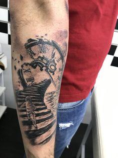 Clock Tattoo Tattoos for men. Sleeve