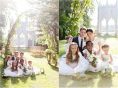A succulent summer garden wedding {styled fashion photoshoot, Surrey} | Eddie Judd Photography | Painshill Park | all credits click through to blog post
