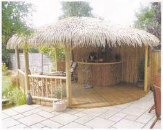 Backyard Tiki Hut