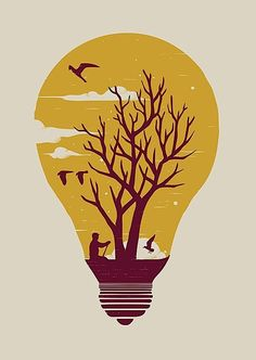 Unwind Mini Art Print by Norman Duenas - Without Stand - x Art And Illustration, Illustrations And Posters, Landscape Silhouette, Poster Prints, Art Prints, Print Artist, Cool Artwork, Vector Art, Artsy