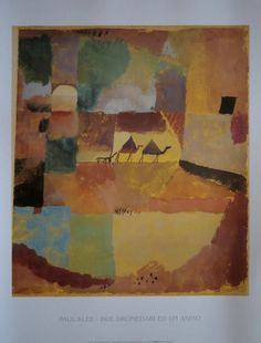 Paul Klee two dromedories and a donkey