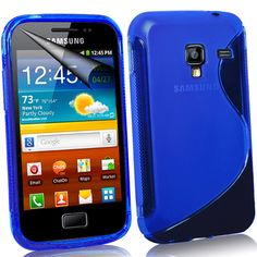 WAVE S-LINE SILICONE GEL CASE COVER FITS SAMSUNG GALAXY ACE PLUS S7500 FREE FILM | eBay