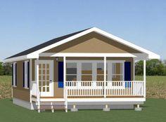 20x32 Tiny House -- #20X32H3A -- 640 sq ft - Excellent Floor Plans