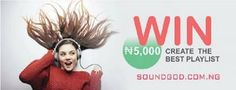 Nigerian Online Music Platform Soundgod.com.ng Announces Winner of PLAYLIST Competition -  Click link to view & comment:  http://www.naijavideonet.com/nigerian-online-music-platform-soundgod-com-ng-announces-winner-of-playlist-competition/