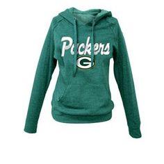 Green Bay Packers Fleece Pullover Hoodie - Women $48