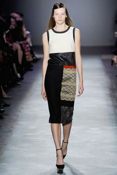 The Fourteen Biggest Trends From the Fall 2012 Runways -- The Cut -   All Mixed Up  Giambattista Valli