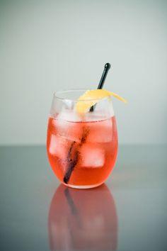 Bicyclette - Campari, wine, splash of soda
