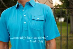 Blue Polo - The Players Shirt in Brilliant Blue | Criquet
