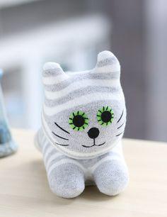 Jouet pour chat T8 anniversaire cadeau peluche poupée par Leekary