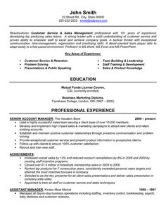 Example Of Objective In Resume For Sales Lady  Resume