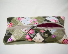 Handmade Scented Pencil Case, Pencil pouch, unisex, gadget case, zippered, back to school