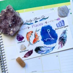 Zodiac Sign Planner Stickers are now available on StickyPlansCo. They were made with lots of love and details, and the colors used match exactly the ones related to your birth sign.