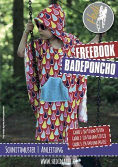 FREEBOOK Badeponcho - zum kostenlosen download