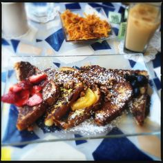 Super French Toast Flight @ Batter & Berries in Chicago - restaurant recommendations brought to you by Vladimir