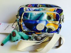 Kipling Crossbody Bag Convertible Fanny Pack Clutch Merryl Three Way Bag | eBay