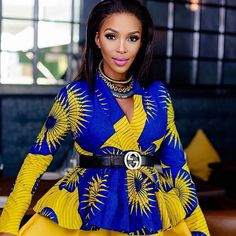 2019 Stylish and Trendy Ankara Styles - Naija's Daily African Dresses For Women, African Print Dresses, African Attire, African Wear, African Prints, African Style, African Women, African Fashion Ankara, Ghanaian Fashion
