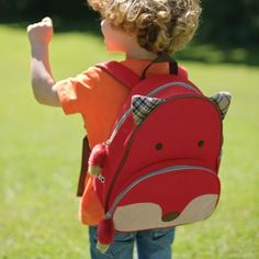 This #SkipHop Fox Backpack is perfect for your little ones this #BackToSchool