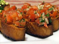 If you've never had BJ's Bruschetta appetizers, you've never lived. It's amazing and this recipe is identical. Enjoy!