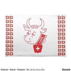 Schweiz - Suisse - Svizzera - Svizra Tischset