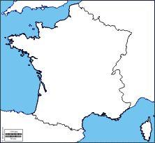 France: Free maps, free blank maps, free outline maps, free base ...