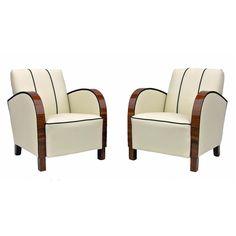 Pair of Swedish Art Deco chairs