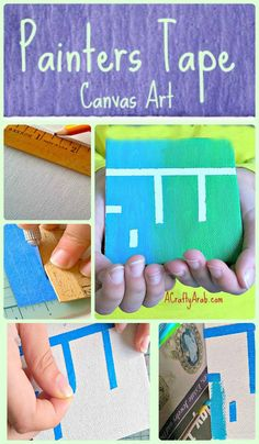 A Crafty Arab Painters Tape {Allah} Canvas Art Tutorial. Today is my mom's birthday. To my daughters she is Taita, which is Arabic for Grandmother. For the special occasion, we took a vote in our house and unanimously decided she was the Best Taita In The World, for many reasons of course, but we each had a favorite – she makes the most amazing mubatan she gives …