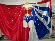 Items similar to Wonder Cape,Star Spangled Red White and Blue Womens Costume Cape, floor length replica lynda carter costume cape, 16 foot hem sweep on Etsy Capes For Women, Costumes For Women, Figure Suits, Lynda Carter, Warrior Princess, Blue Satin, Red White Blue, One Size Fits All, Cute Outfits