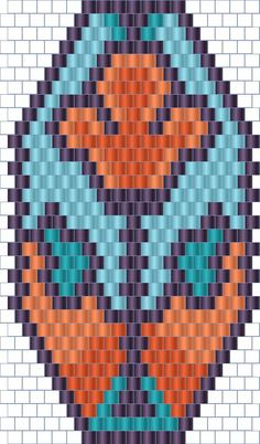 Russian beadwork blog - Jewelry by Anabel  - lots of different diagrams for peyote and loomwork
