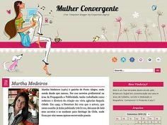 FREE Template Blogger - Mulher Convergente   Emporium Digital - Blogs Exclusivos, Websites e Design