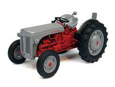 Universal Hobbies 1:32 Ferguson FF Diecast Model Tractor J4190 This Ferguson FF 30 DS Diecast Model Tractor is Grey and Red and features working wheels. It is made by Universal Hobbies and is 1:32 scale (approx. 9cm / 3.5in long).    #UniversalHobbies #ModelTractor #Ferguson