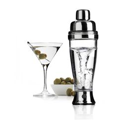 Shaker Avec Plaisir ! de l'Atelier du vin, pour les novices qui veulent imiter Tom Cruise ou les Barmen fainéants, à découvrir sur http://www.utileetfutile.fr/accessoires-vin-et-champagne/1962-electric-cocktails-shaker.html
