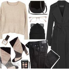 A fashion look from October 2016 featuring MANGO sweaters, Michael Lo Sordo coats and BRAX jeans. Browse and shop related looks.