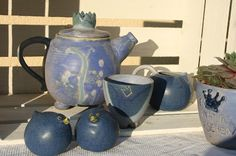 terra-keramik.blogspot.com: Ein Tee vor meiner Werkstatt und ich habe der Kann...