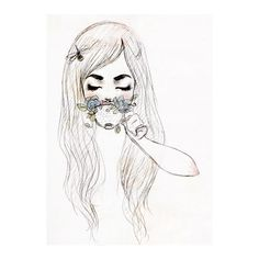 Tumblr ❤ liked on Polyvore featuring drawings, fillers, art, alice in wonderland and backgrounds