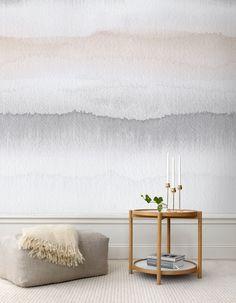 Watercolour wallpaper.