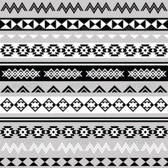 Tribal Ethinc Ztec Seamless Pattern #GraphicRiver Vector seamless aztec ornament, ethnic pattern in black on white background FEATURES: 100% Vector Shapes All groups have names All elements are easy to modify – you can change coulours, size Pack include version AI, EPS, JPG Created: 11 December 13 Graphics Files Included: JPG Image #Vector EPS #AI Illustrator Layered: Yes Minimum Adobe CS Version...