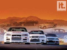 Nissan Skyline generations.