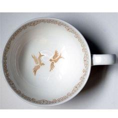 Stain Design Tea Cups