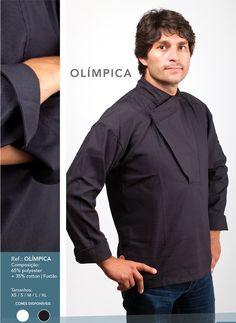 Jaleca Olímpica/Olímpica chef coat