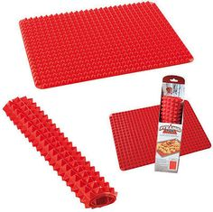 #Pyramid pan non stick fat reducing #silicone cooking mat oven #baking tool 5231, View more on the LINK: http://www.zeppy.io/product/gb/2/361307555858/
