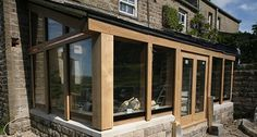 Oak Garden Rooms - Using Seasoned Oak Oak By Design