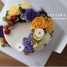 . . Done by my student - Buttercream flower cake . . (베러 정규클래스/Regular class) www.better-cakes.com  Any inquiries about BETTER CLASS, Plz contact me through LINE or Email. Mailbettercakes@naver.com Linebetter_cake FacebookBetter Cake Kakaotalkbettercake  #buttercream#cake#베이킹#baking#bettercake#like#버터크림케이크#베러케익#cupcake#flower#꽃#sweet#플라워케익#koreabuttercream#wilton#앙금플라워#디저트#buttercreamcake#dessert#버터크림플라워케익#follow#떡케이크#koreancake#beautiful#윌튼#instacake#꽃스타그램#앙금플라워떡케이크#instafo...